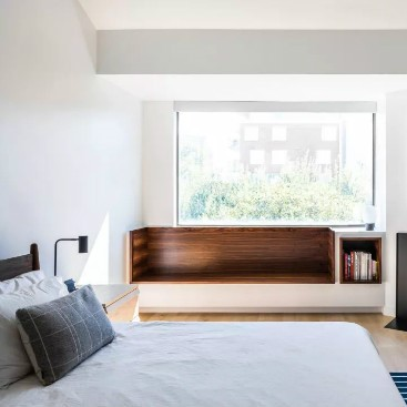 Set up a comfort zone for the bedroom