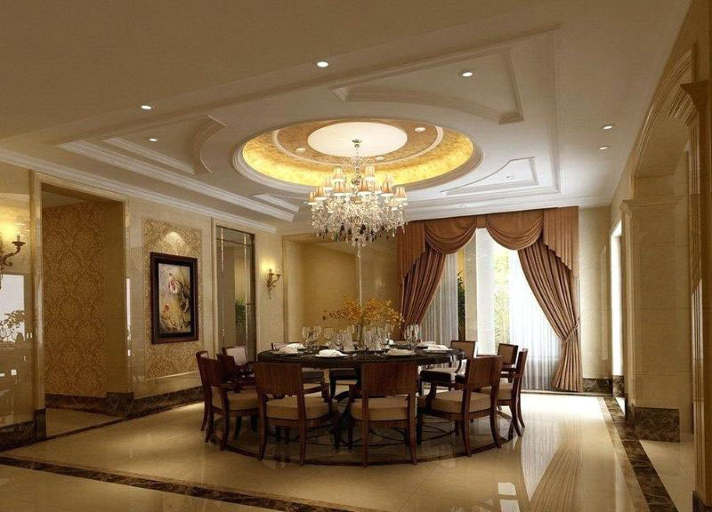 Suspended ceiling hall