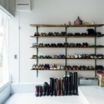 shoe rack ideas closet