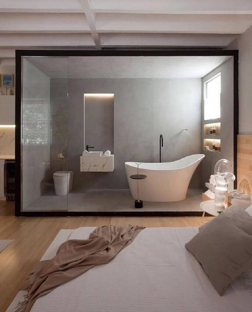 Decorating a bathroom for Kolkata