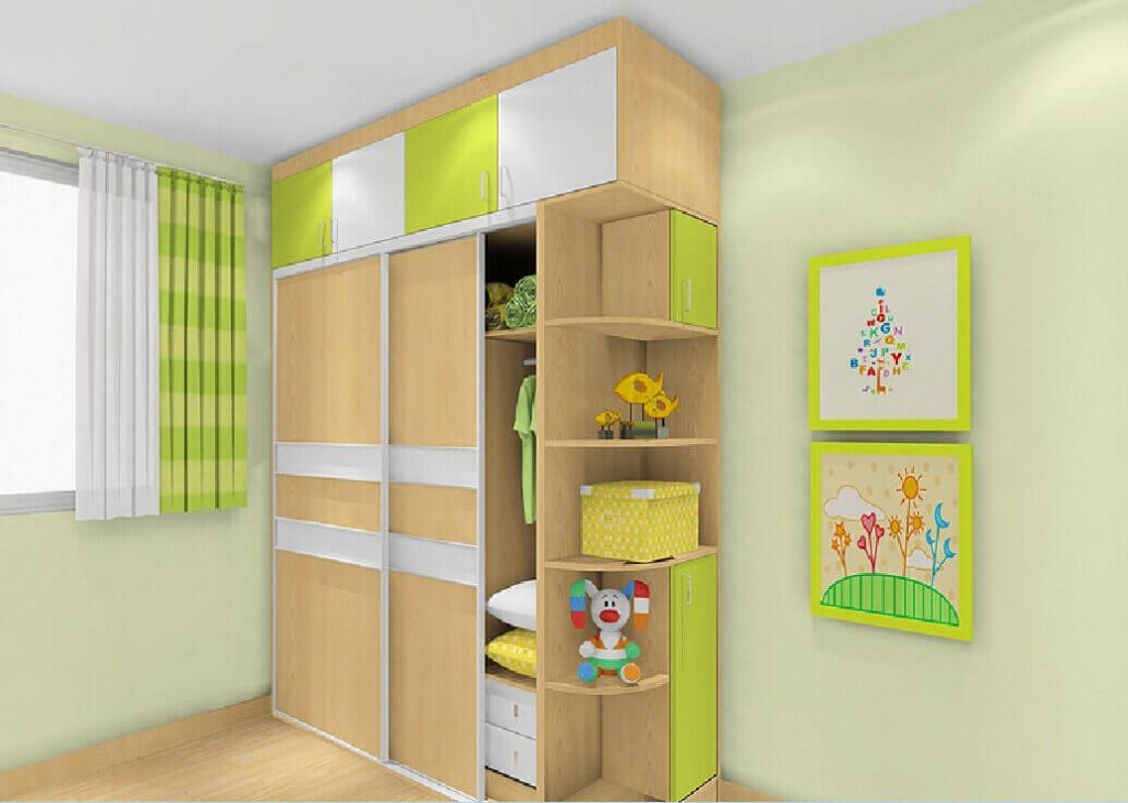 Stylist Wardrobe Designs For Children's Room With Image