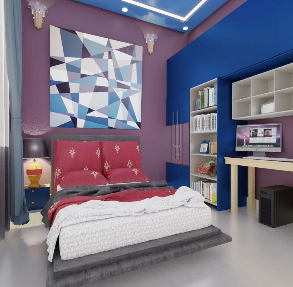 Bedroom by livspace and ThemeINDIA
