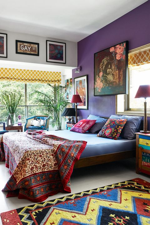 color full bedroom pictures